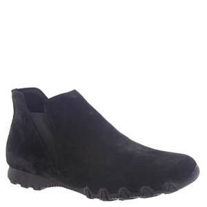 Skechers Black Suede Ankle Shoes